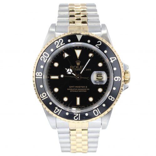 Rolex GMT Master II In Steel & Gold