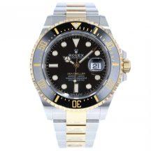Rolex Sea Dweller in Steel & Gold