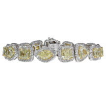 Yellow Diamond Bracelet