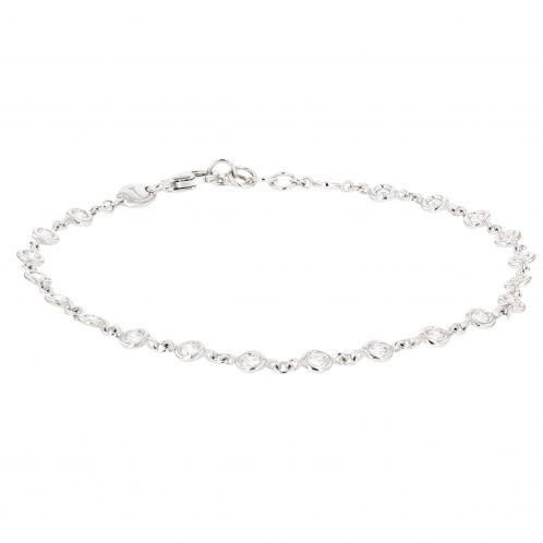 Diamond Bracelet In White Gold 0.60ct