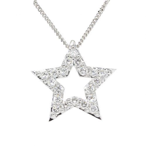 Diamond Star Pendant (Medium)