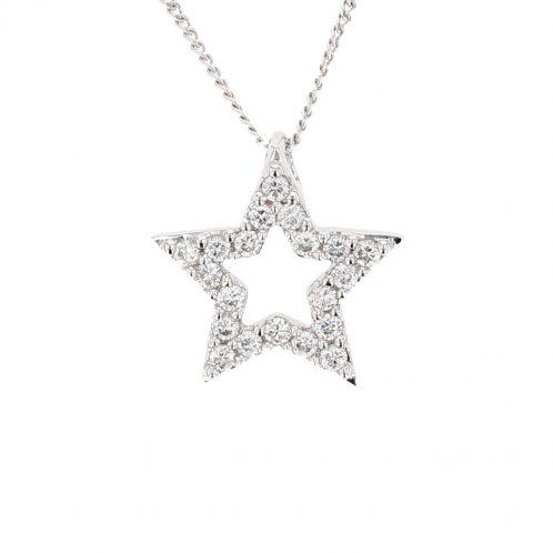 Diamond Star Pendant (Small)