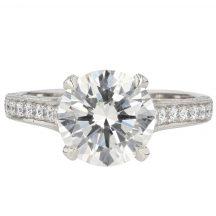 Brilliant Cut Diamond Engagement Ring 2.56ct