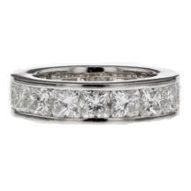 Lily Cut Channel Set Diamond Full Eternity Ring