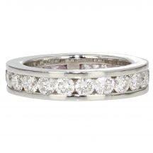 Brilliant Cut Diamond Eternity Ring 2.50ct