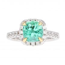 Emerald & Diamond Ring 1.73ct
