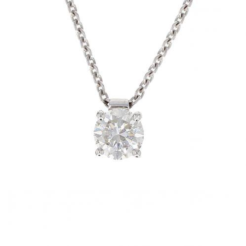 Brilliant Cut Diamond Pendant 0.69ct