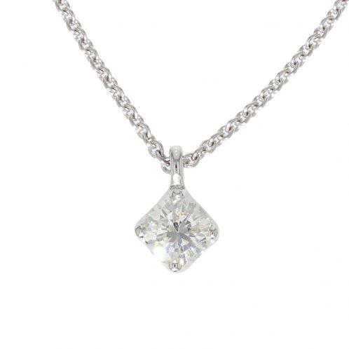 Brilliant Cut Diamond Pendant 0.81ct