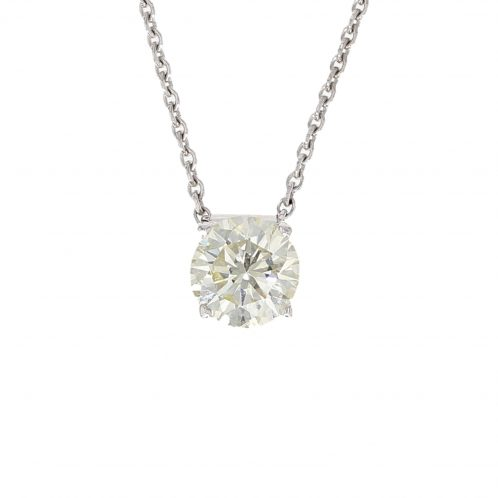 Brilliant Cut Diamond Pendant 1.14ct