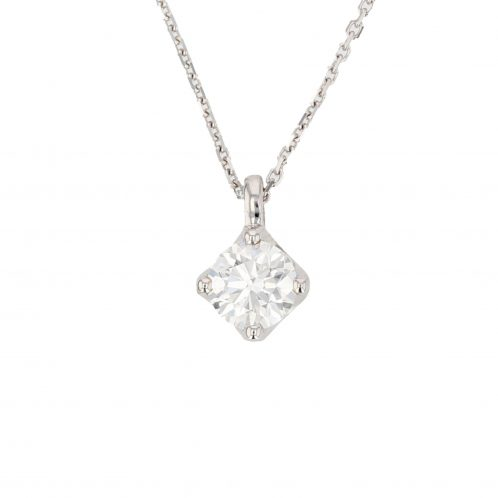 Brilliant Cut Diamond Pendant 0.90ct