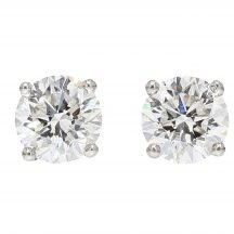 1.81ct Brilliant Cut Diamond Studs
