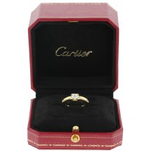 Cartier Brilliant Cut Diamond Ring