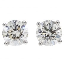 Brilliant Cut Diamond Studs