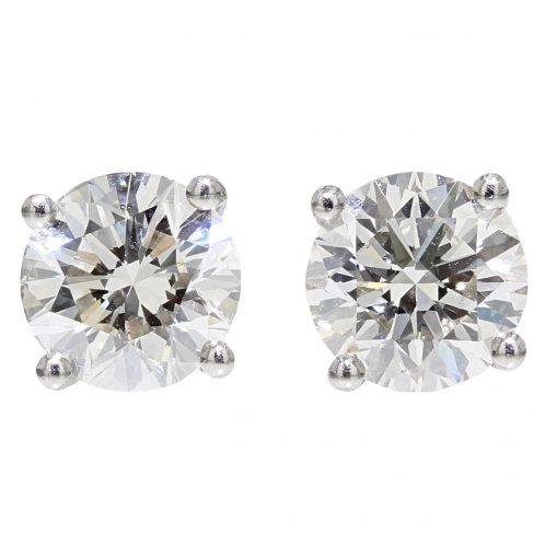 Brilliant Cut Diamond Studs