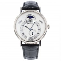 Breguet Classique Moonphase In 18ct White Gold