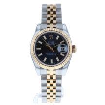 Rolex Datejust 26mm Steel & Gold Blue Dial