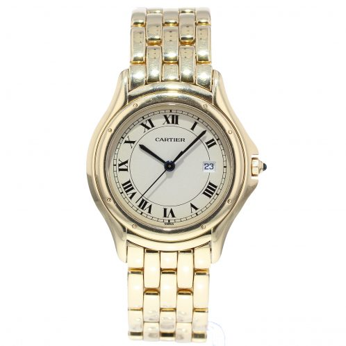 Cartier Yellow Gold Cougar