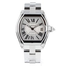 Cartier Roadster Gents Steel