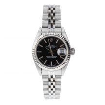 Rolex Datejust 26mm Steel Black Dial