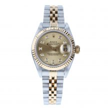 Rolex Datejust 26mm Steel and Gold Diamond Dot Dial