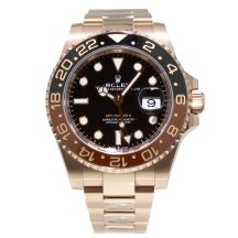 Rolex GMT-Master II 'Root Beer' 18ct Rose Gold