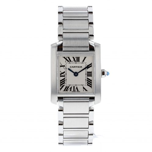 Cartier Tank Francaise In Stainless Steel