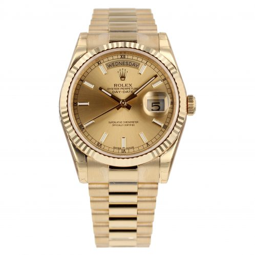 Rolex Day-Date 36mm In Yellow Gold