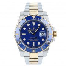 Rolex Submariner Steel & Gold Blue Kit