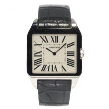 Cartier Santos Dumont in 18ct White Gold