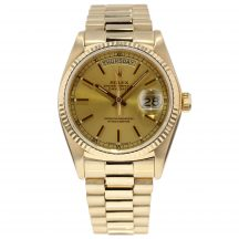 Rolex Day-Date In 18ct Yellow Gold