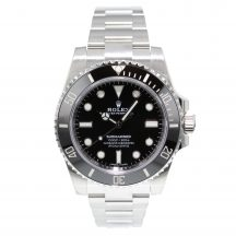 Rolex Submariner Non Date In Stainless Steel