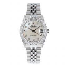 Rolex Datejust 31mm Mother of Pearl Diamond Set