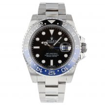 Rolex GMT Master II Batman In Stainless Steel