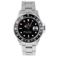 Rolex GMT Master II In Stainless Steel 16710