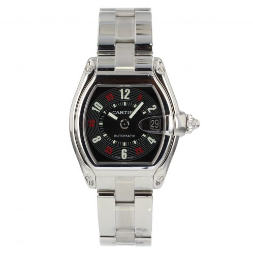 Cartier Roadster 'Vegas' Dial In Stainless Steel