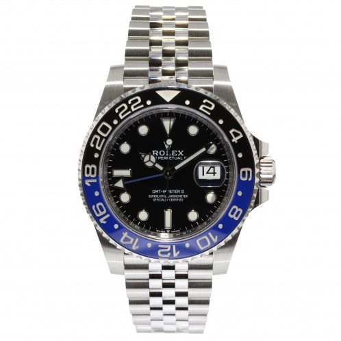 Rolex GMT Master II Batman On Jubilee Bracelet 126710BLNR