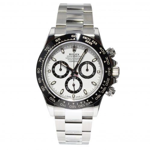 Rolex Daytona White Dial 116500