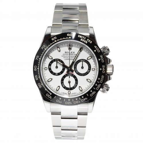 Rolex Daytona White Dial In Stainless Steel 116500