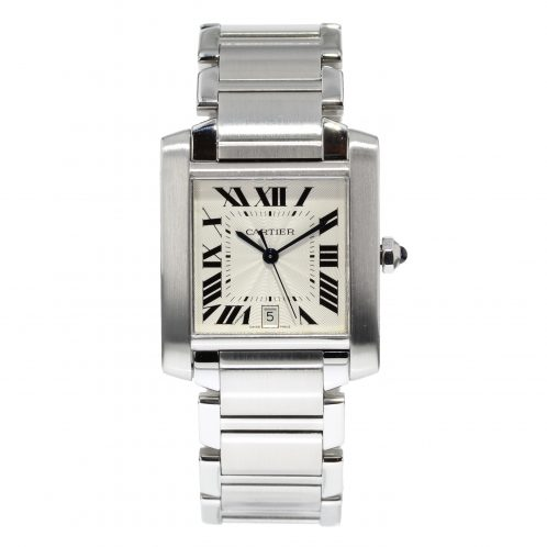 Cartier Tank Francaise Automatic In Stainless Steel