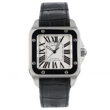 Cartier Santos 100 In Stainless Steel