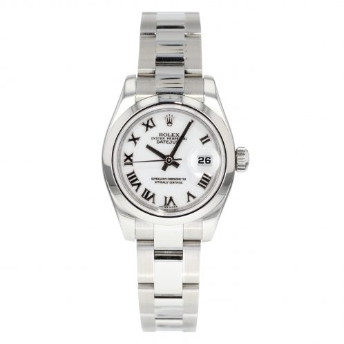 Rolex Datejust 26mm White Dial In Stainless Steel