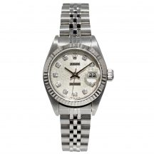Rolex Datejust 26mm In Stainless Steel With Rolex Dial
