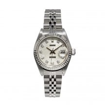 26mm Rolex Datejust In Stainless Steel With Rolex Dial