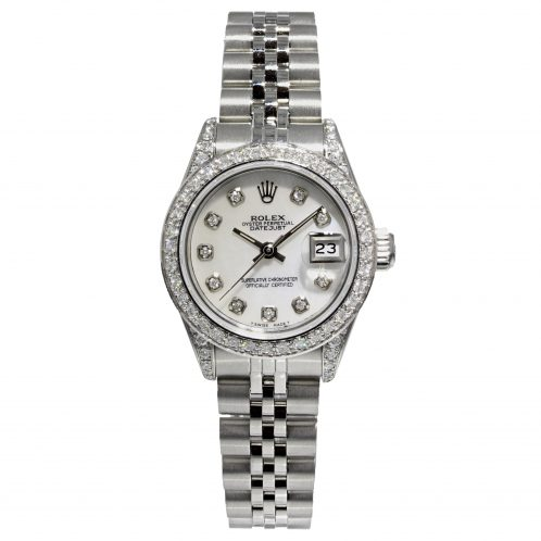 Rolex Datejust 26mm With Mother Of Pearl Diamond Dial