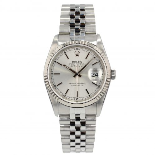 Rolex Datejust 36mm In Stainless Steel