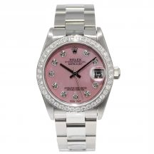 31mm Rolex Datejust Pink Mother Of Pearl
