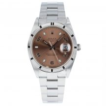 34mm Rolex Oyster Date Pink Dial