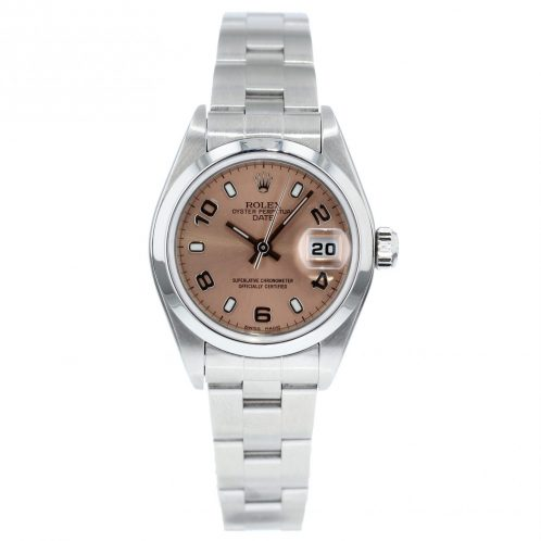 26mm Rolex Oyster Date With Pink Dial