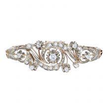 Antique Diamond Rose Gold Bracelet