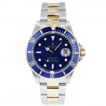Rolex Submariner Steel & Gold 'Blue Kit'